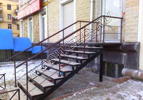 Металлические лестницы - mosweld.ru