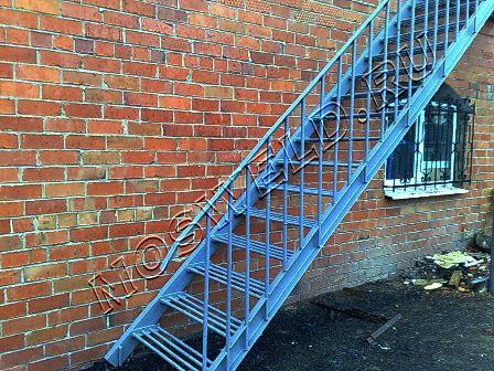 Лестница для улицы своими руками