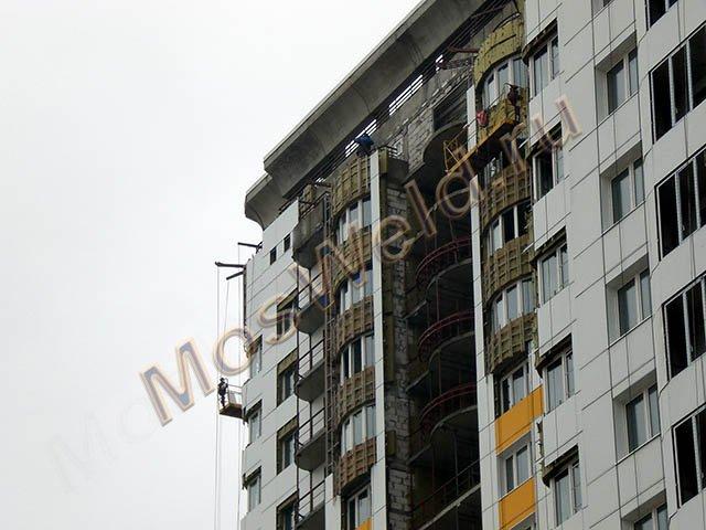 Фотогалерея - балконные ограждения из черного метала для мно.